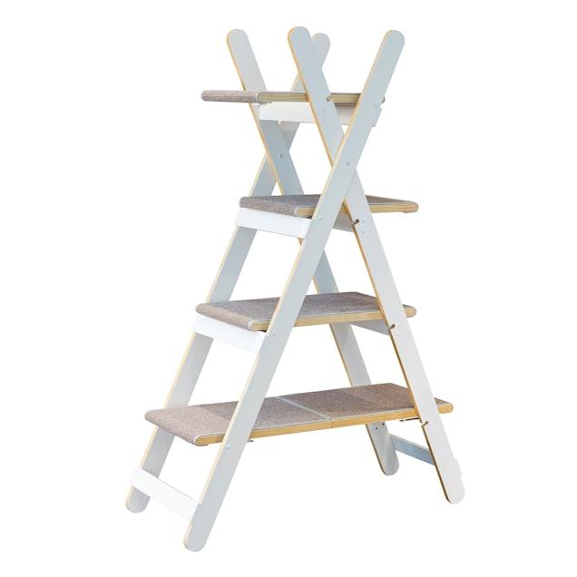 "Zoovilla Modern Folding Cat Tree, 60.24"" H - Carousel image #1"