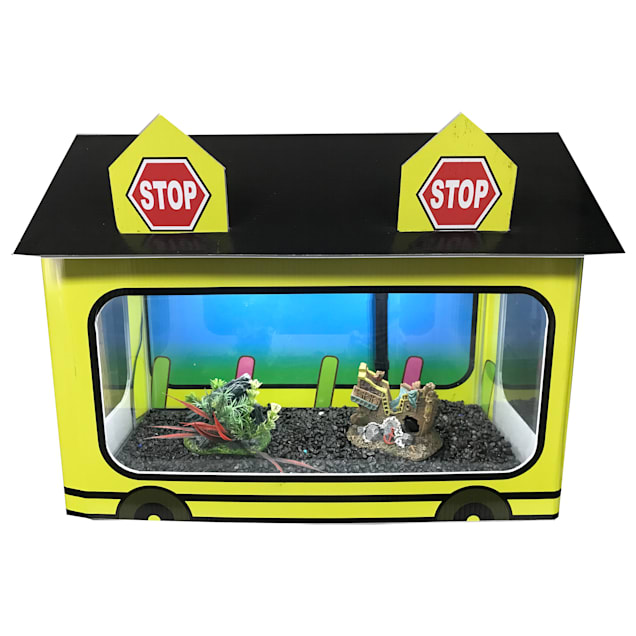 """R&J Enterprises School Bus Tank House, 20.75"""" L X 12"""" W X 15"""" H - Carousel image #1"""