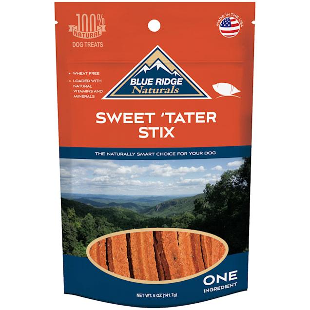 Blue Ridge Naturals Sweet Tater Stix Dog Treats, 5 oz. - Carousel image #1