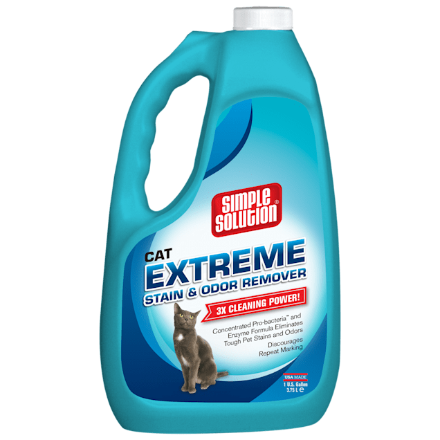 Simple Solution Extreme Cat Stain & Odor Remover, 1 gallon - Carousel image #1