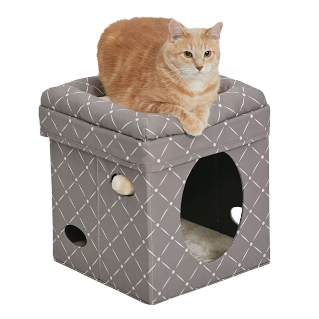 """Midwest Curious Mushroom Cat Cube, 16.5"""" H - Carousel image #1"""