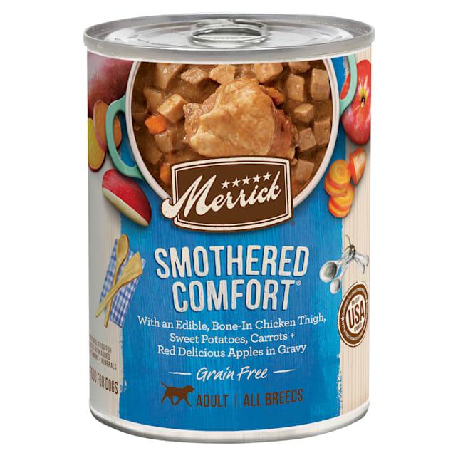 Merrick Grain Free Smothered Comfort Wet Dog Food, 12.7 oz. - Carousel image #1