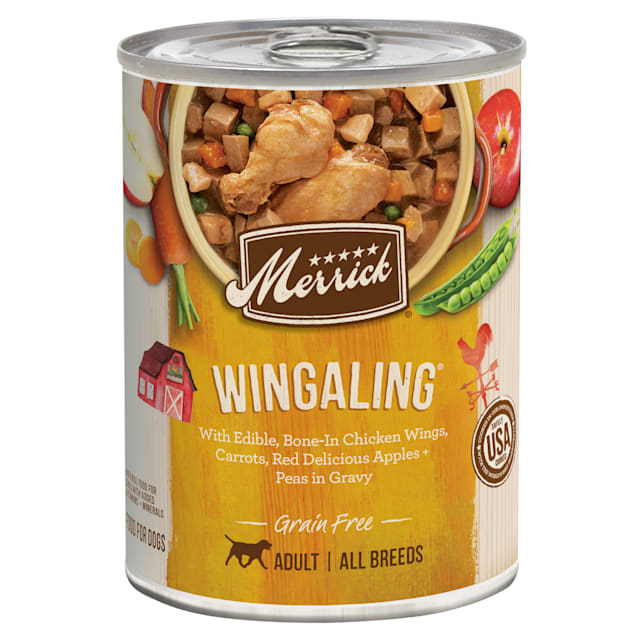 Merrick Grain Free Wingaling Wet Dog Food, 12.7 oz., Case of 12 - Carousel image #1