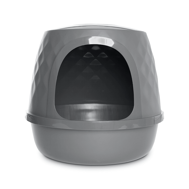 So Phresh Geometric Covered Cat Litter Box - Carousel image #1