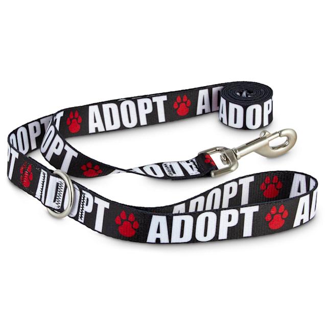Good2Go Adopt Love Dog Leash, 6 ft. - Carousel image #1