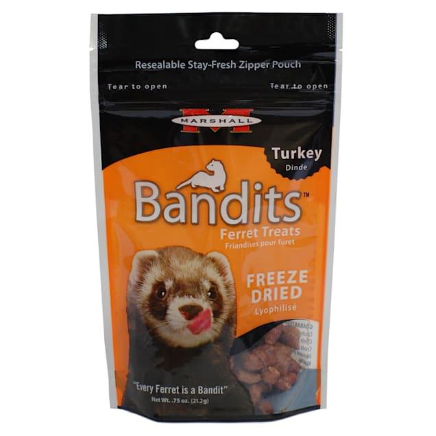 Marshall Ferret Extreme Freeze Dried Turkey Flavored Treats, 0.75 oz. - Carousel image #1