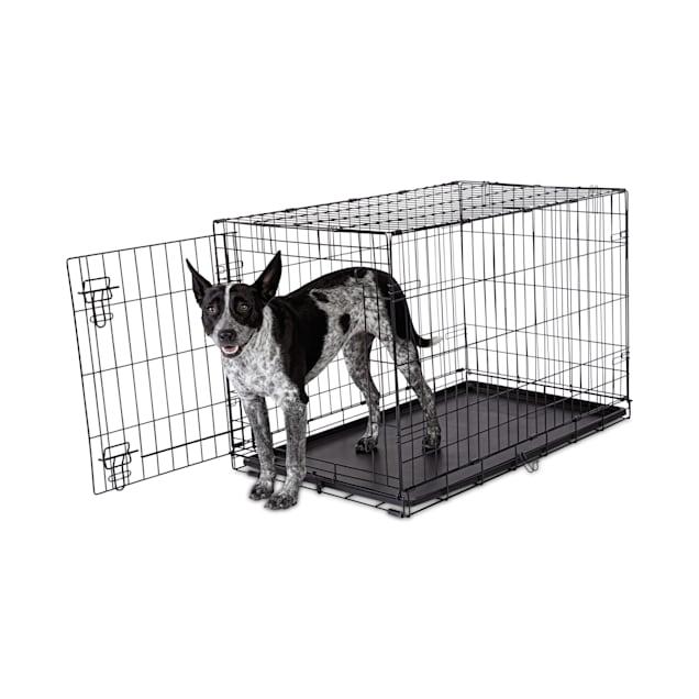 "Animaze 1-Door Folding Dog Crate, 36.5"" L x 23.2"" W x 24.7"" H - Carousel image #1"
