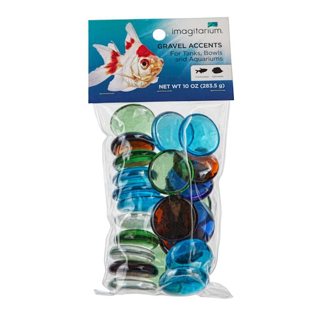 Imagitarium Jumbo Glass Aquarium Gravel Accent Mix,10 oz. - Carousel image #1