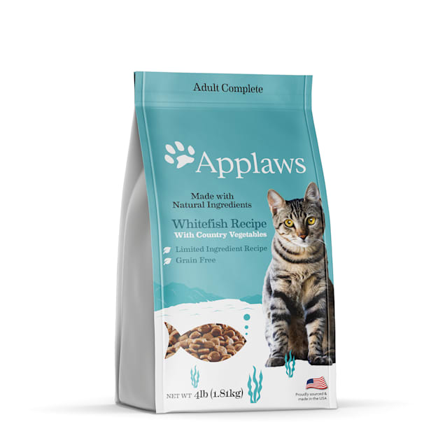 Applaws Whitefish Grain Free Dry Cat Food, 4 lbs. - Carousel image #1