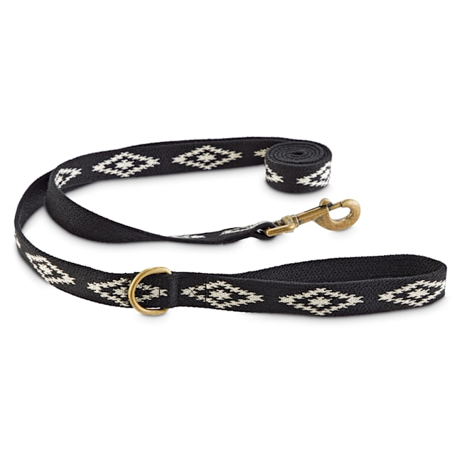 Good2Go Black Aztec Dog Leash, 6 ft. - Carousel image #1