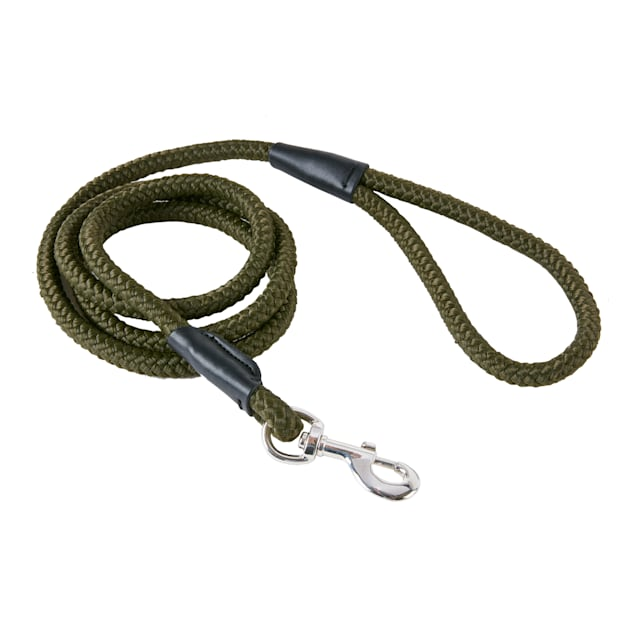 Track & Tail Green Rope Dog Leash - Carousel image #1