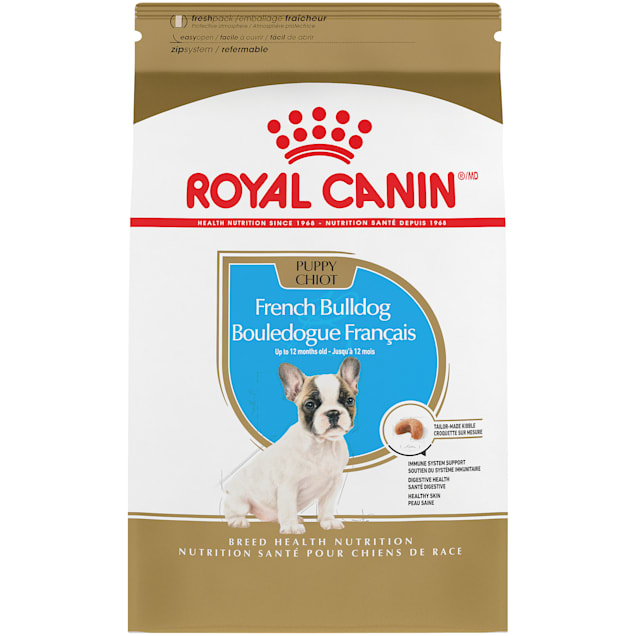 Royal Canin Breed Health Nutrition French Bulldog Dry Puppy Food, 3 lbs. - Carousel image #1