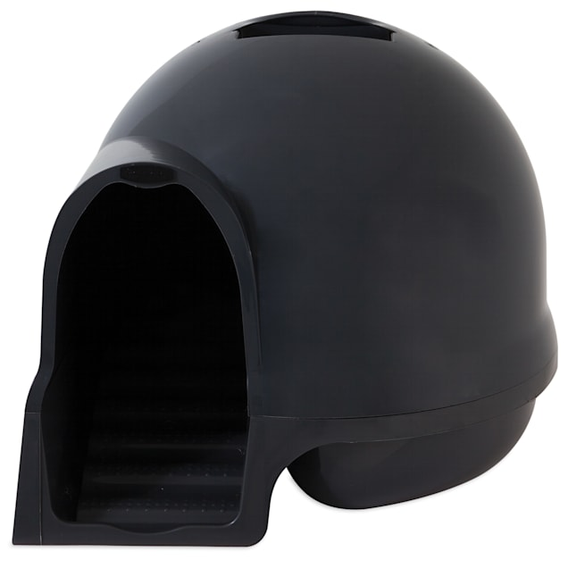 Booda Clean Step Litter Box in Dark Grey - Carousel image #1
