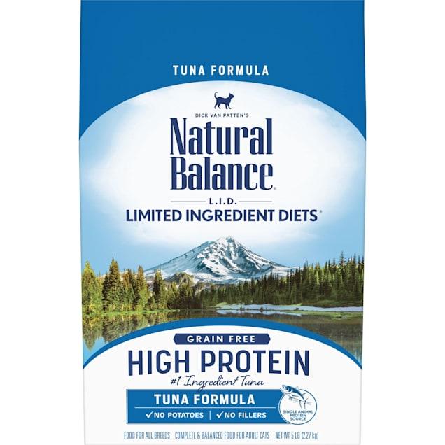 Natural Balance L.I.D. High Protein Tuna Formula Adult Dry Cat Food, 5 lbs. - Carousel image #1