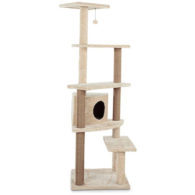 "Animaze 5-Level Cat Tree with Condo, 25.3"" L x 23.8"" W x 63"" H - Carousel image #1"