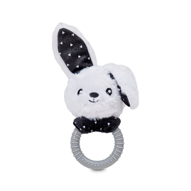 Bond & Co. Floppy Bunny Ring Dog Toy, Small - Carousel image #1