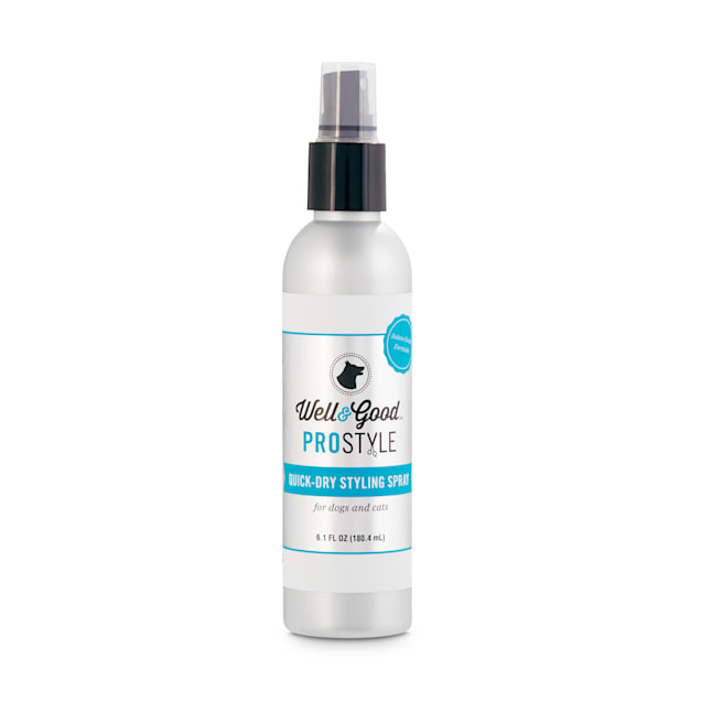 Well & Good ProStyle Quick-Dry Dog and Cat Styling Spray, 6.1 fl. oz. - Carousel image #1