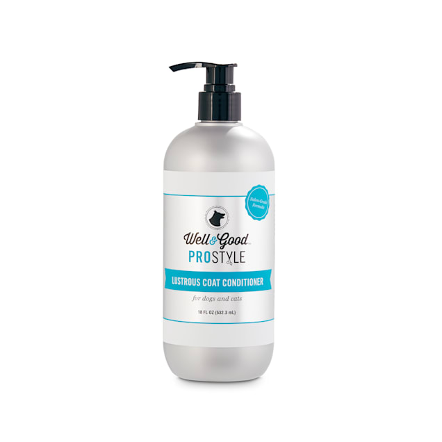 Well & Good ProStyle Lustrous Coat Conditioner for Dogs and Cats, 18 fl. oz. - Carousel image #1