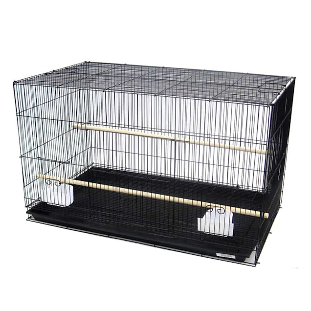 "YML Black Small Bird Breeding Cage, 24"" L X 16"" W X 16"" H - Carousel image #1"