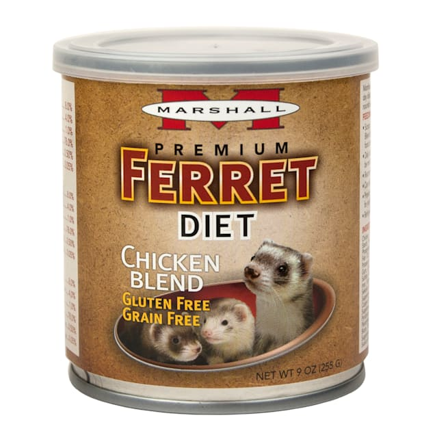 Marshall Pet Products Canned Chicken Blend Ferret Diet Topper, 9 oz. - Carousel image #1