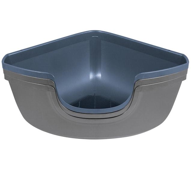 "Petmate Sifting Corner Litter Pan for Cats, 26"" L X 19"" W X 11.7"" H - Carousel image #1"