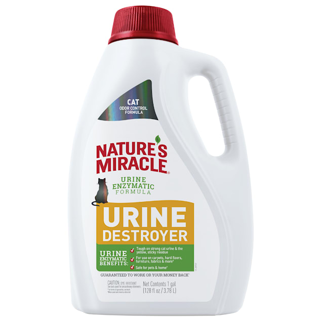 Nature's Miracle Urine Destroyer Light Fresh Scent for Cat, 1 Gallon - Carousel image #1