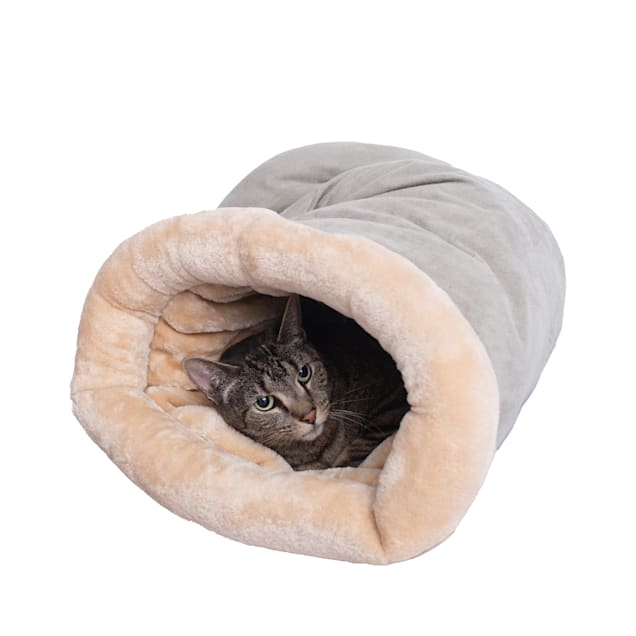 """Armarkat Hideaway Cat Bed in Sage Green, 20"""" L X 14"""" W - Carousel image #1"""