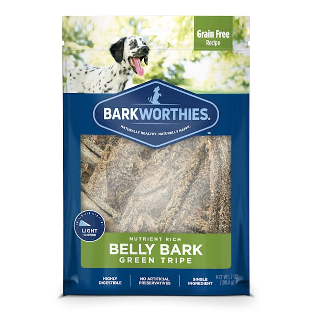 Barkworthies Green Tripe Sticks for Dogs, 7 oz. - Carousel image #1