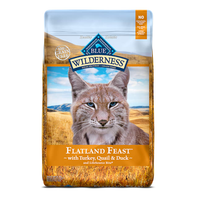 Blue Buffalo Blue Wilderness Regionals Flatland Feast  Dry Cat Food, 10 lbs. - Carousel image #1