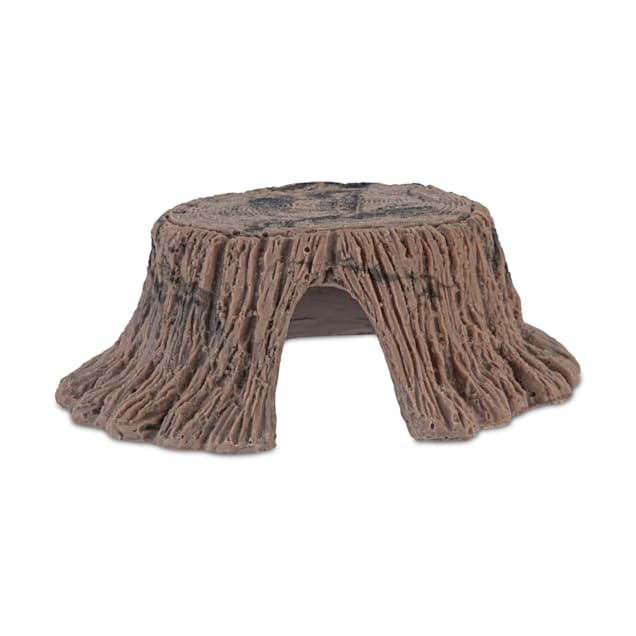 Imagitarium Tree Stump Reptile Hideaway, Small - Carousel image #1