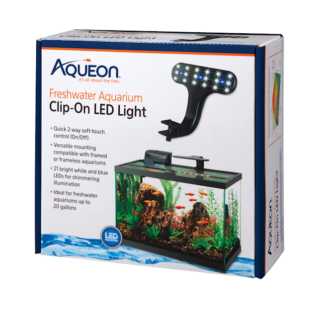Aqueon Freshwater Aquarium Clip-On LED Fixture - Carousel image #1