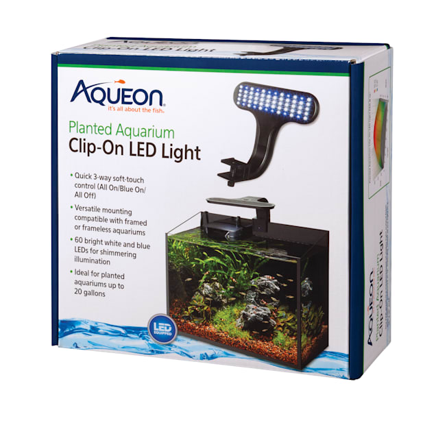 Aqueon Live Planted Aquarium Clip-On LED Fixture - Carousel image #1