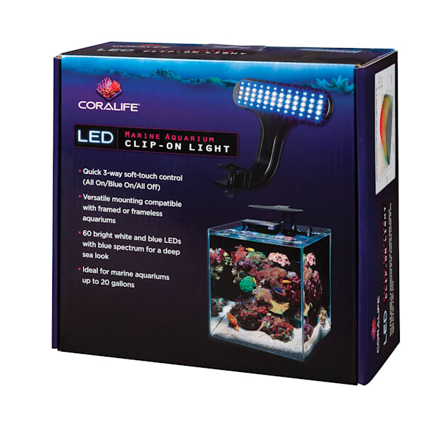 Coralife Marine Aquarium Clip-On LED Fixture - Carousel image #1