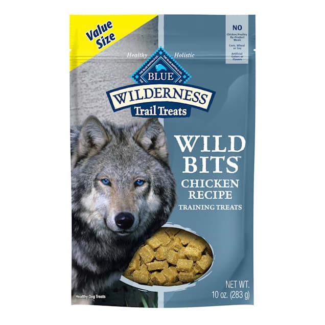 Blue Buffalo Wilderness Bits Chicken Value Added Vitamins Dog Treat, 10 oz. - Carousel image #1