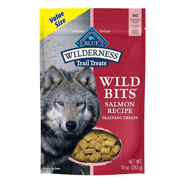 Blue Buffalo Wilderness Bits Salmon Dog Treat, 10 oz. - Carousel image #1