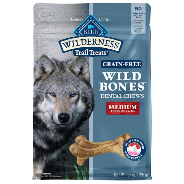 Blue Buffalo Wild Bones Dog Chew Medium, 27 oz. - Carousel image #1