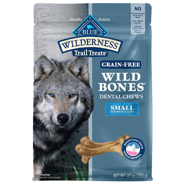 Blue Buffalo Wild Bones Dog Chew Small, 27 oz. - Carousel image #1