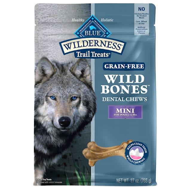 Blue Buffalo Wild Bones Dog Chew Mini, 27 oz. - Carousel image #1