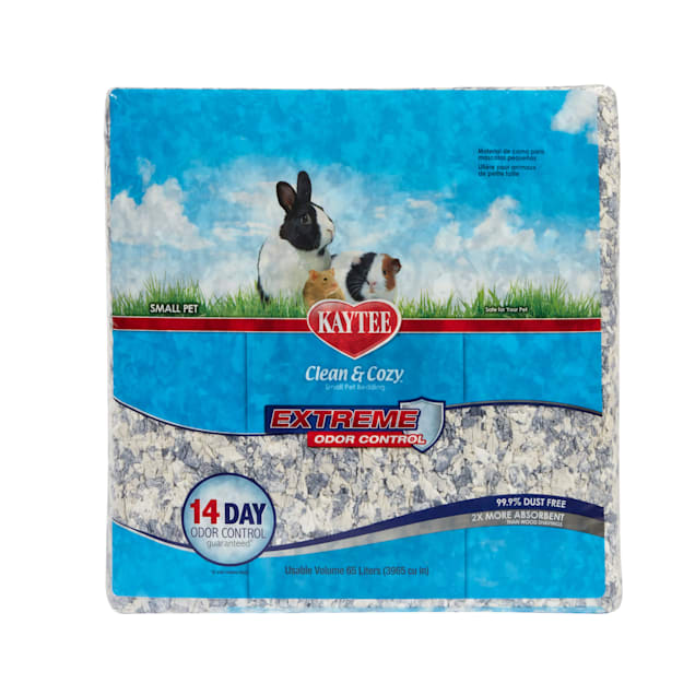 Kaytee Clean and Cozy Extreme Odor Control Bedding, 65 liters 3965 cu.in. - Carousel image #1