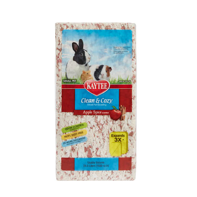 Kaytee Clean and Cozy Apple Spice Bedding, 24.6 Liters 1500 cu.in. - Carousel image #1