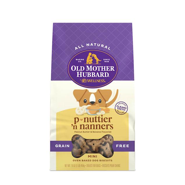 Old Mother Hubbard Mini P-Nuttier 'N Nanners Grain Free Dog Treats, 16 oz. - Carousel image #1