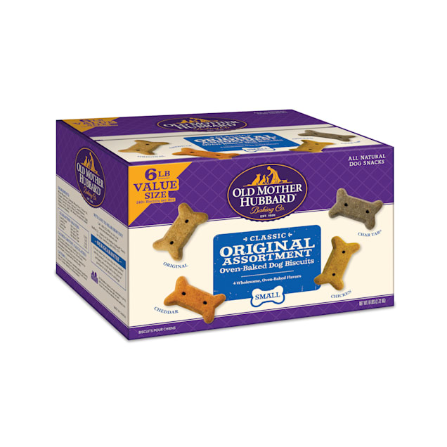 Old Mother Hubbard Classic Original Assortment Small Oven-Baked Dog Biscuits, 6 lbs. - Carousel image #1