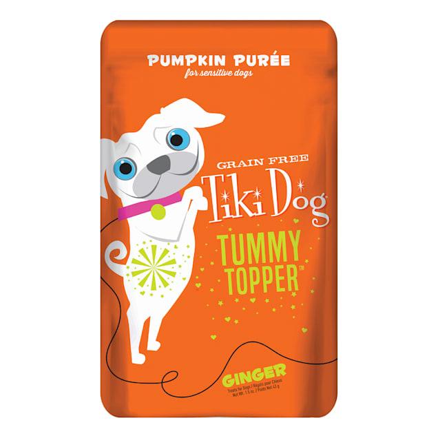 Tiki Dog Tummy Topper Pumpkin & Ginger Wet Dog Food, 1.5 oz., Case of 12 - Carousel image #1