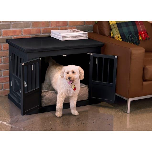 "Zoovilla Triple Door Black Dog Crate, 30.63"" L X 20.39"" W X 23.23"" H - Carousel image #1"