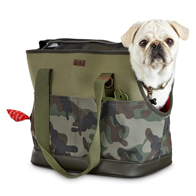 """Reddy Camo Canvas Dog Carrier Tote, 19"""" L x 9"""" W x 12"""" H - Carousel image #1"""