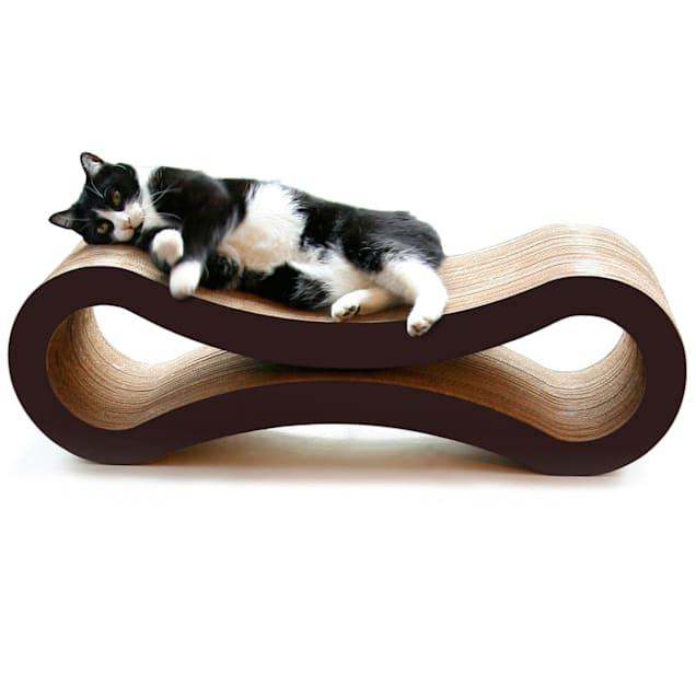 "PetFusion Ultimate Walnut Brown Cat Scratcher Lounge, 10.5"" - Carousel image #1"
