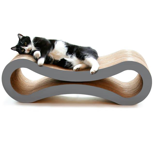 "PetFusion Ultimate Slate Gray Cat Scratcher Lounge, 10.5"" - Carousel image #1"