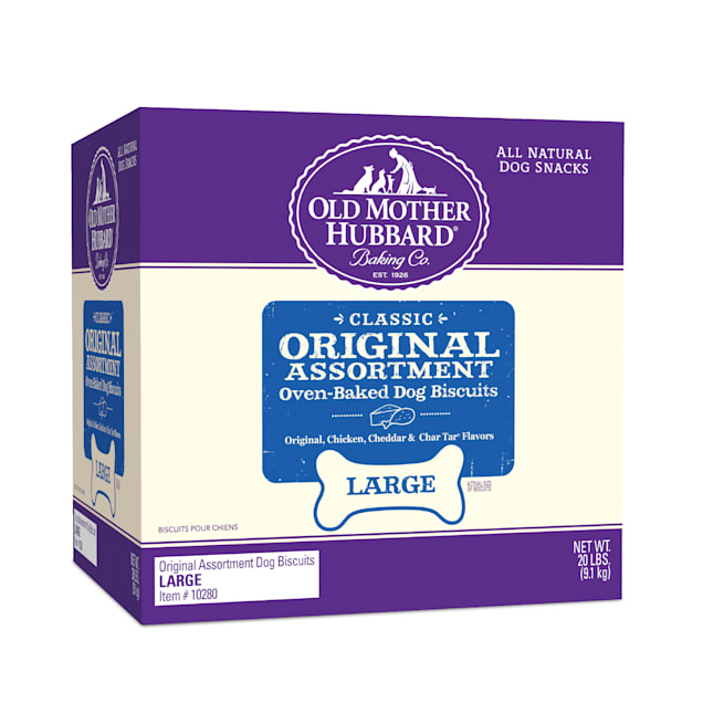 Old Mother Hubbard Classic Crunchy Natural Assorted Dog Large Biscuits, 20 lbs. - Carousel image #1