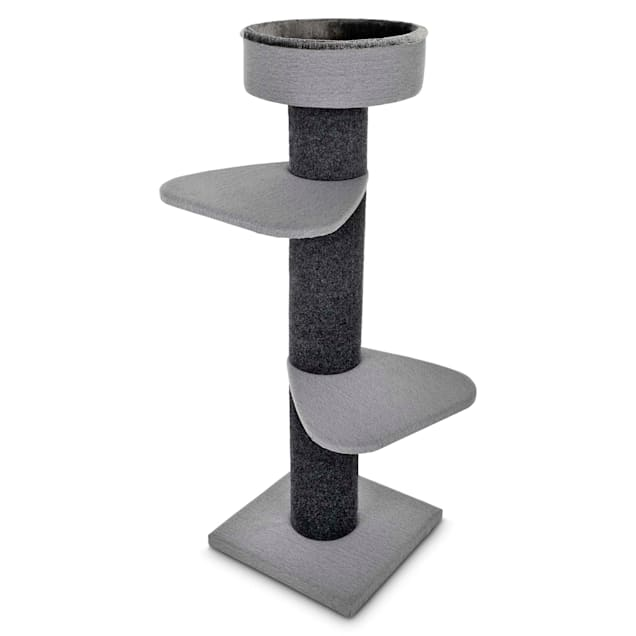 "You & Me Rooftop Vista 3-Level Cat Tree, 55.5"" H - Carousel image #1"