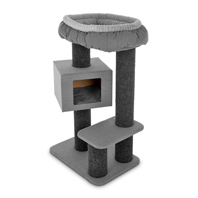 """You & Me Afternoon Abode Cat Tree, 45"""" H - Carousel image #1"""